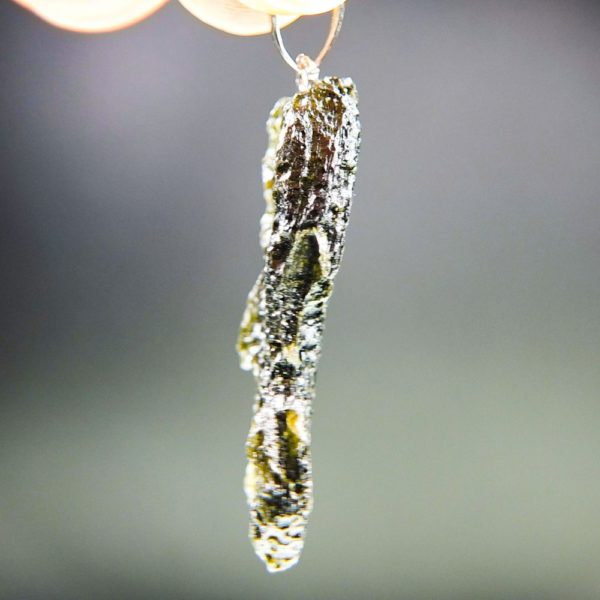 Brown Green Moldavite with Certificate of Authenticity (5.59grams) 3