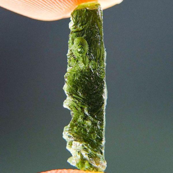 Natural Piece Vibrant Green Moldavite (1.77grams) 3