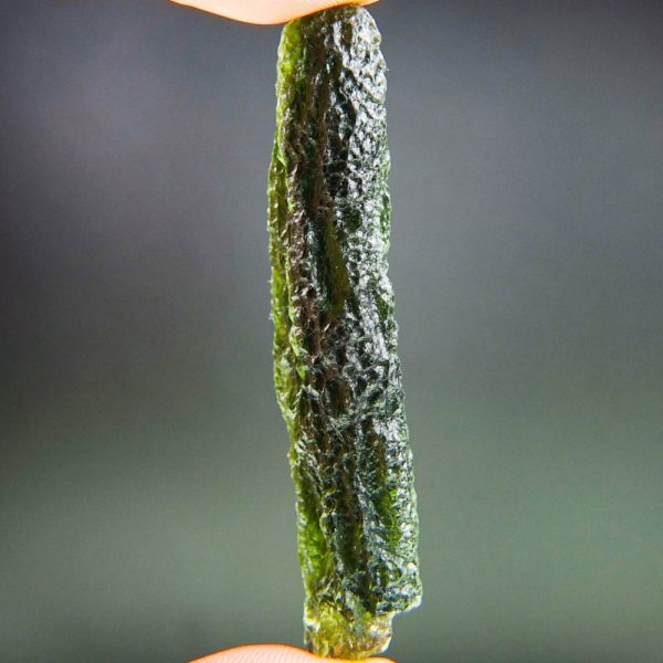 Large Angel Chime Moldavite with Certificate of Authenticity (12.48grams) 3