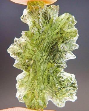 Quality A++ Elegant Moldavite from Besednice with Certificate of Authenticity (4.0grams) 4
