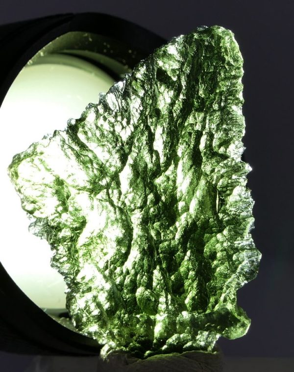 Fine Shape Collector Specimen Moldavite (5.9grams) 4