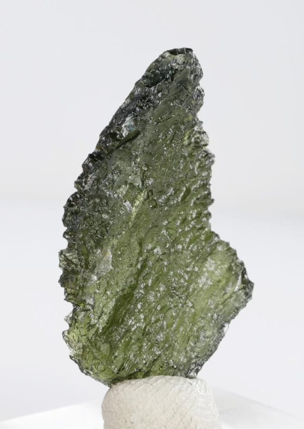 First Grade Collector Moldavite with Certificate of Authenticity (4.2grams) 4