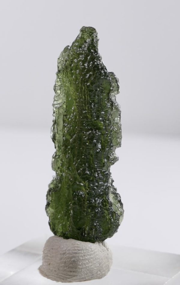 First Grade Moldavite Collector with Certificate of Authenticity (4.2grams) 4
