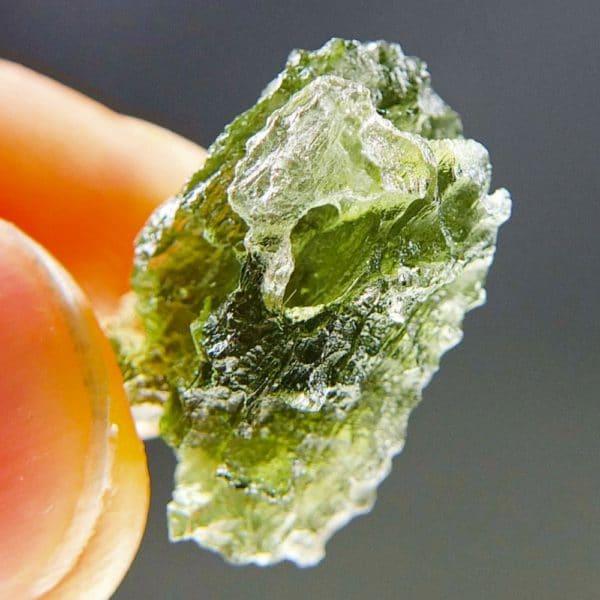 Quality A+ Bottle Green Moldavite (2.7grams) 4