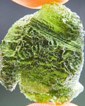 Quality A+ Vibrant Green Natural Piece Moldavite (4.12grams) 1