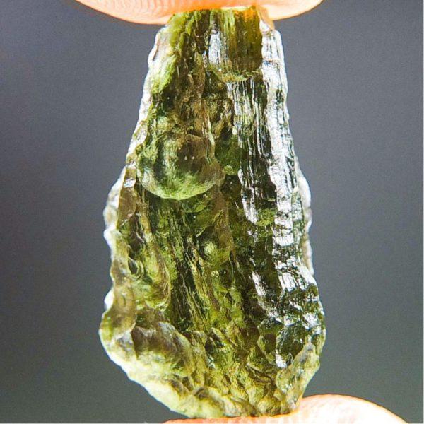 Shiny Bottle Green Moldavite (1.71grams) 1