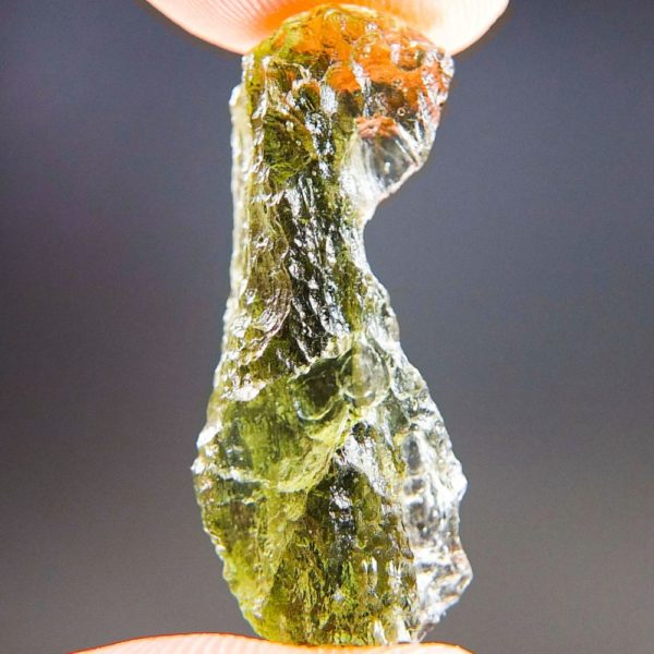 Shiny Olive Green Natural Piece Moldavite (2.07grams) 1