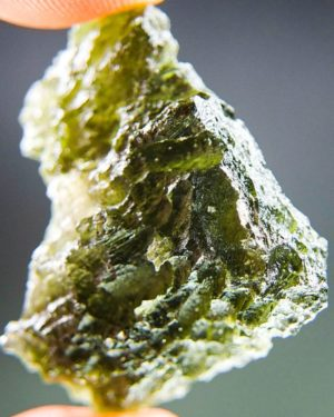 Big Open Bubble Moldavite With Certificate Of Authenticity (8.13grams) 1