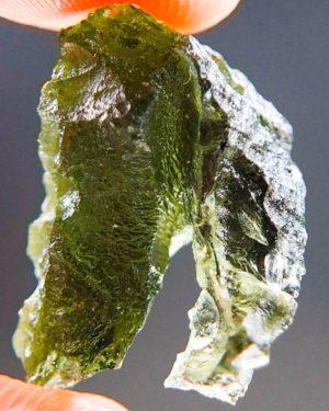 Shiny Rare Shape Moldavite (2.9grams) 1