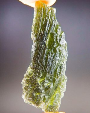 Quality A+ Natural Large Piece Moldavite With Certificate Of Authenticity (9.55grams) 1