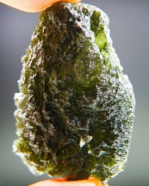 Large Excellent Moldavite With Certificate Of Authenticity (15.26grams) 1