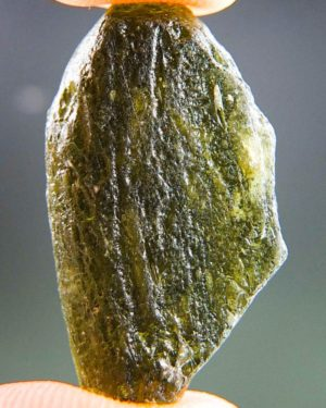 Brown Green Moldavite With Abrasion (4.11grams) 1