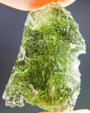 Shiny Natural Piece Raw Moldavite (2.68grams) 1