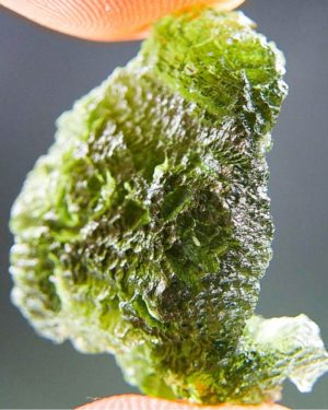 Quality A+ Vibrant Green Natural Piece Moldavite (4.12grams) 2