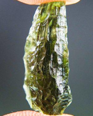 Shiny Bottle Green Moldavite (1.71grams) 2