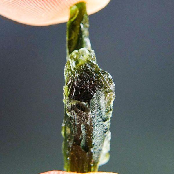 Shiny Excellent Shape Moldavite (2.43grams) 2