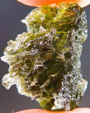 Quality A+ Small Natural Piece Moldavite (2.6grams) 2