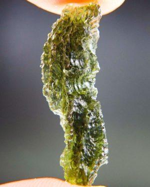 Quality A+ Bottle Green Natural Piece Moldavite (3.25grams) 2
