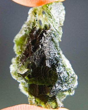 Quality A+ Olive Green Moldavite With Certificate Of Authenticity (5.95grams) 2