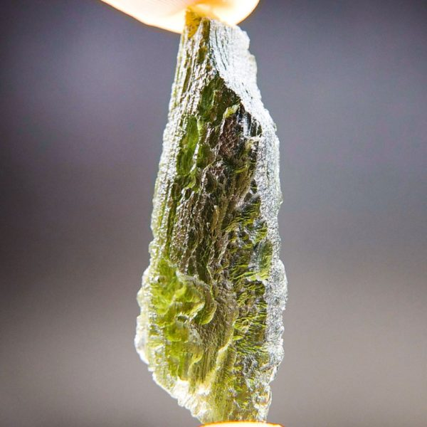 Quality A+ Natural Large Piece Moldavite With Certificate Of Authenticity (9.55grams) 2