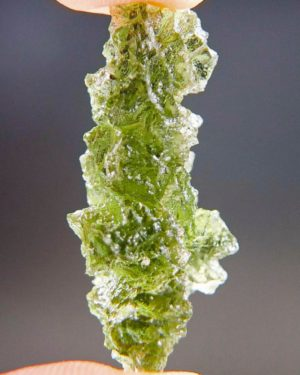 Quality A++ Excellent Moldavite From Besednice With Certificate Of Authenticity (4.6grams) 2