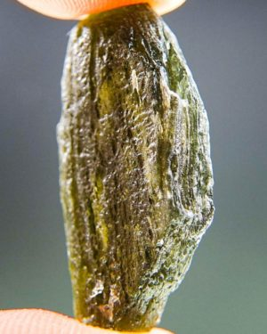 Brown Green Moldavite With Abrasion (4.11grams) 2