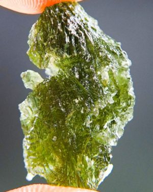 Quality A++ Rare Elegant Moldavite With Certificate Of Authenticity (3.88grams) 2