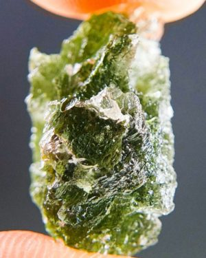 Quality A+/++ Raw Moldavite (3.31grams) 2