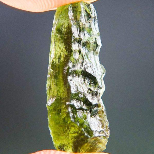 Shiny Bottle Green Moldavite (1.71grams) 3