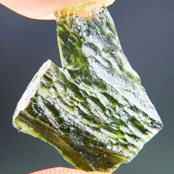 Shiny Excellent Shape Moldavite (2.43grams) 3