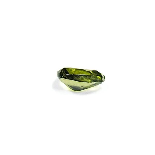 Faceted Small Drop Shape Moldavite With Certificate Of Authenticity (0.065grams) 3
