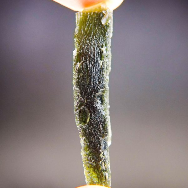 Quality A+ Natural Large Piece Moldavite With Certificate Of Authenticity (9.55grams) 3