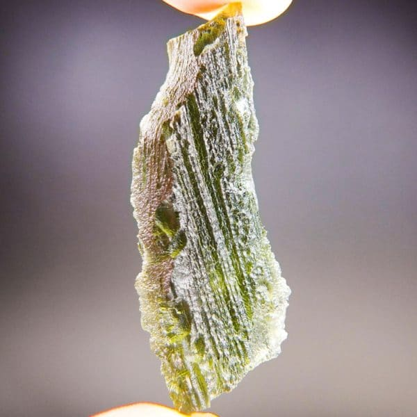 Quality A+ Natural Large Piece Moldavite With Certificate Of Authenticity (9.55grams) 4
