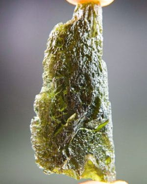 Shiny Olive Green Moldavite With Certificate Of Authenticity (9.73grams) 5