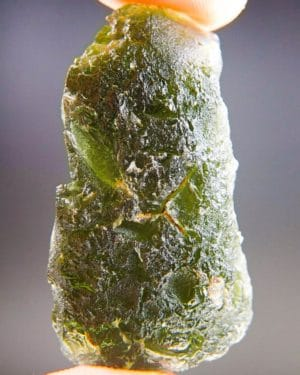 Big Two Kinds Of Sculpture Moldavite With Certificate Of Authenticity (14.21grams) 1