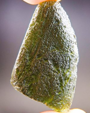 Bottle Green Large Moldavite With Certificate Of Authenticity (17.12grams) 1