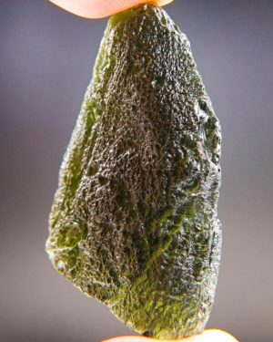 Bottle Green Large Moldavite With Certificate Of Authenticity (17.12grams) 2