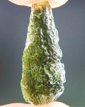 Drop Shape Moldavite From Chlum (1.55grams) 1