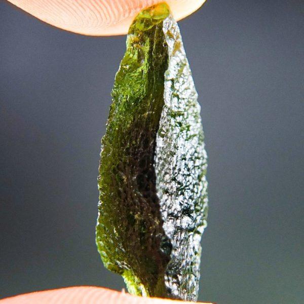 Glossy Unique Shape Moldavite (2.64grams) 3