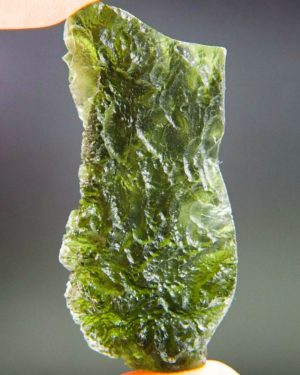 Large Angel Chime Moldavite From Chlum With Certificate Of Authenticity (14.02grams) 1
