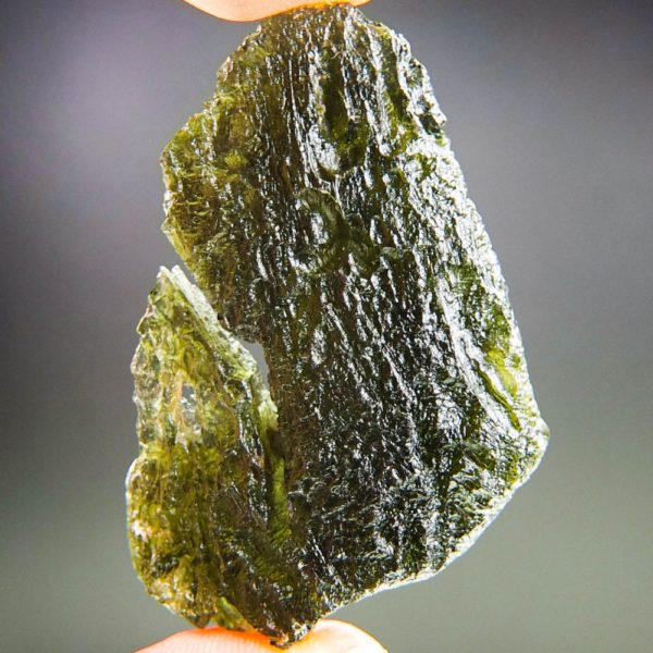 Large Angel Chime Moldavite With Certificate Of Authenticity (17.1grams) 1