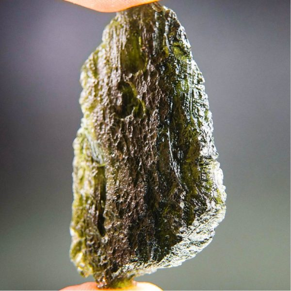 Large Angel Chime Moldavite With Certificate Of Authenticity (17.1grams) 2