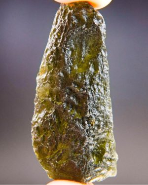 Large Brown Green Moldavite Found On Surface With Certificate Of Authenticity (12.35grams) 1