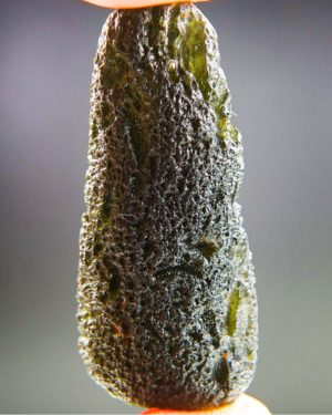 Large Dark Moldavite With Certificate Of Authenticity (14.08grams) 1