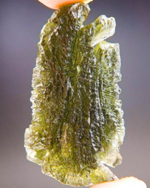 Large Moldavite From Chlum With Certificate Of Authenticity (12.79grams) 1