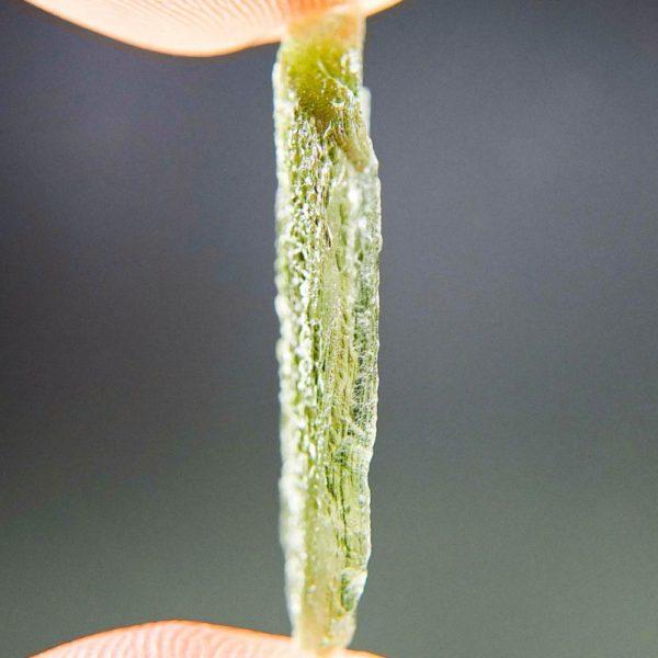 Light Green Naturally Thin Moldavite From Chlum (2.1grams) 3