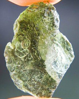 Light Green Open Bubble Moldavite (3.26grams) 1