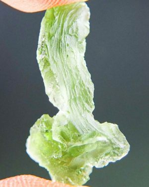Matte Apple Green Color Moldavite (1.5grams) 2