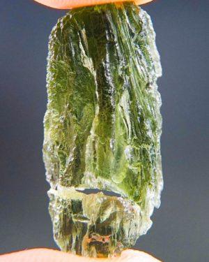 Natural Etched Break Moldavite (2.97grams) 1