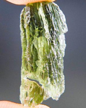 Natural Etched Break Moldavite (2.97grams) 2